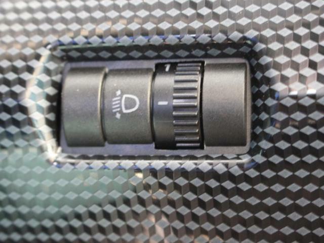 ヘッドライトレベライザー装備!
