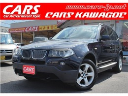 BMW X3 2.5si 4WD 4WD 純正ナビ レザーシート ETC