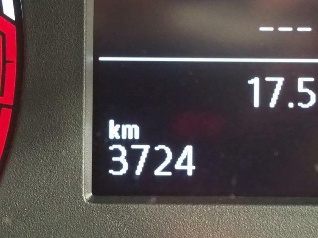 実際の走行距離です。