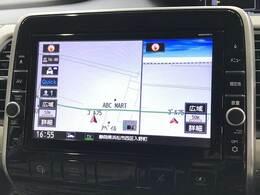 純正9インチナビゲーション付き。大画面でドライブをお楽しみ頂けます。