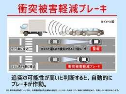 特に運転に慣れた30代男性によるよそ見運転の追突事故が増えています!もしぶつかりそうになったら自動でブレーキをかけてくれるので、事故のリスクを減らすことができます。