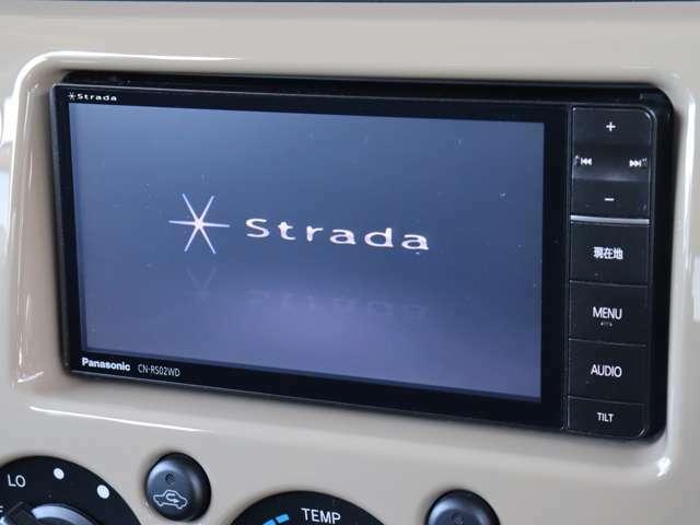 【 社外7型メモリナビ 】CN-RS02WD AM,FM,CD,DVD,SD,Bluetooth,フルセグ
