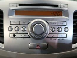 純正オーディオ☆CD・ラジオの再生が可能です☆
