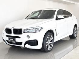 BMW X6 xドライブ 35i Mスポーツ 4WD SR 黒革 セレクトP HUD ACC Tビュー 20AW