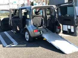 使いやすいスロープタイプの福祉車輌で車椅子のスペースも広く大変使いやすいモデルです!