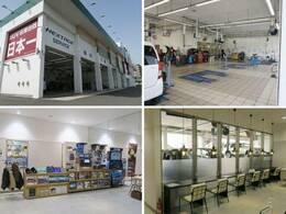 大型の指定工場を保有しており、車検から日常点検まで安心してお任せいただける環境を整えております。待合スペースでは、愛車の整備風景をご覧いただく事も可能です♪