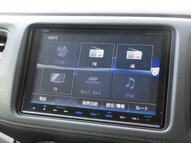 ギャザズ8インチメモリーナビ(VXM-175VFEi)を装着しております。AM、FM、CD、DVD再生、Bluetooth、音楽録音再生、フルセグTVにホンダインターナビにも対応しており初めて訪れた場所でも道に迷わず安心です