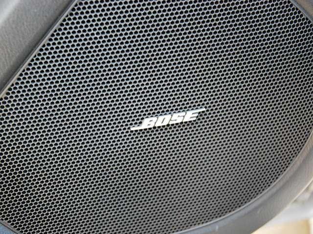 まるでコンサートホールのような臨場感のあるサウンドを楽しむことができる「Boseサウンドシステム」
