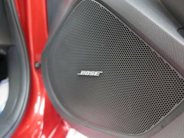 【BOSEサウンドパフォーマンスシリーズサウンドシステム】高音質な音楽が車内を包み込みます!
