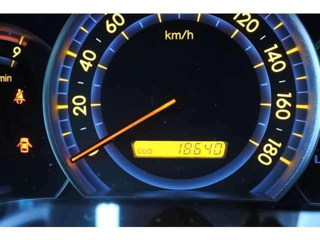 18,640キロ走行!