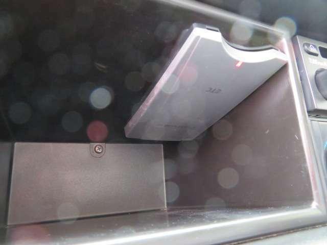 ETC車載器付きです、高速道路を使用する方には便利ですよね、スマートインターチェンジの利用も可能です。