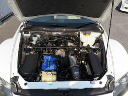 メーカーカタログ引用エンジン型式13B-MSP 出力250ps(184kW)/8500rpm トルク22.0kg・m(216N・m)/5500rpm 種類水冷直列2ローター気持ちの良いエンジンです。