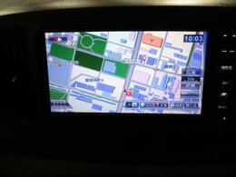 ワンセグTVメモリーナビ 広範囲にも対応出来るワンセグTV CD、AM/FM 視聴できます。