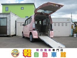 ホンダ N-BOX+ 660 G 車いす仕様車 4WD 福祉車両 スローパー メモリーナビ ABS