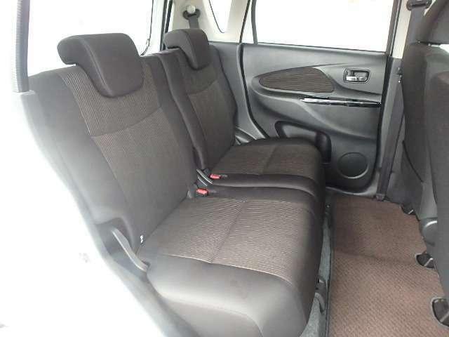 しっかりしたシートで座り心地が良いからロングドライブも快適