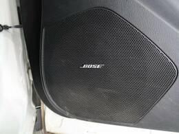 【BOSEサラウンドシステム】搭載で、ワンランク上の音質の音楽を楽しめます。