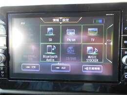 地デジTVはもちろん、DVD再生やCDの録音再生も可能!