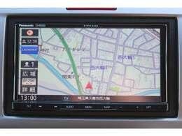 メモリーナビ搭載車!!ナビ起動までの時間と地図検索する速度が最大の魅力で、初めての道でも安心・快適なドライブをサポートします!
