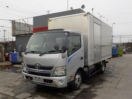 トヨタ トヨエース 2トンアルミバン ワイドロング ハイブリッド MTモード付AT