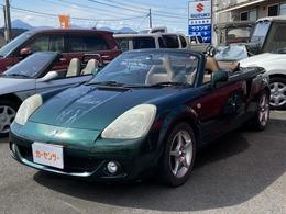 トヨタ MR-S 1.8 Vエディション シーケンシャル DVDナビ・CD・ETC・キーレス・A/C・PS