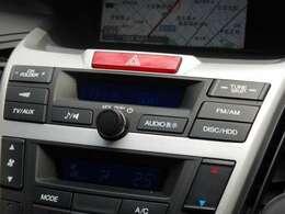 オーディオソースは最新のメディアにも対応しています。CDの楽曲を録音再生に対応。携帯電話・スマートフォン・音楽プレーヤーを接続して、ナビから操作して音楽再生も可能です