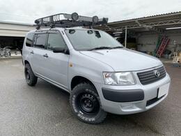トヨタ サクシードバン U 4WD リフトアップ