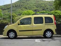 ジョンアグリュム(黄色)の外装は色褪せも少なく、艶もありきれいな状態です。