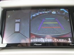 車両の前後左右に備えた計4つのカメラを活用し車両を上方から撮影しております。