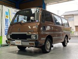 日産 キャラバンコーチ E23型 SGL サンルーフ ETC コラムMT