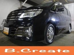 日産 セレナ 2.0 ライダー ブラックライン 4WD ナビ・地デジ・Bカメラ・Wパワスラ・LED