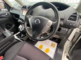 運転席周り ハンドル操作スイッチ