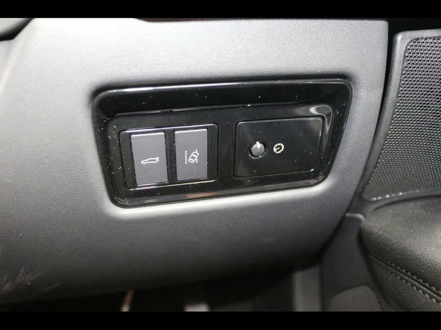 左よりテールゲート、レーンデパーチャー、イルミネーションボタンです