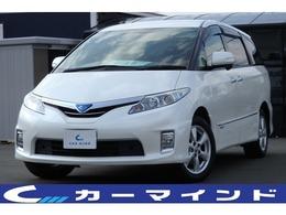 トヨタ エスティマハイブリッド 2.4 X 4WD 両側自動ドア アルパインツインナビ