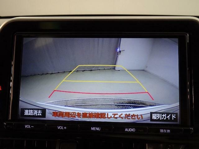 駐車ガイド付きバックカメラ!