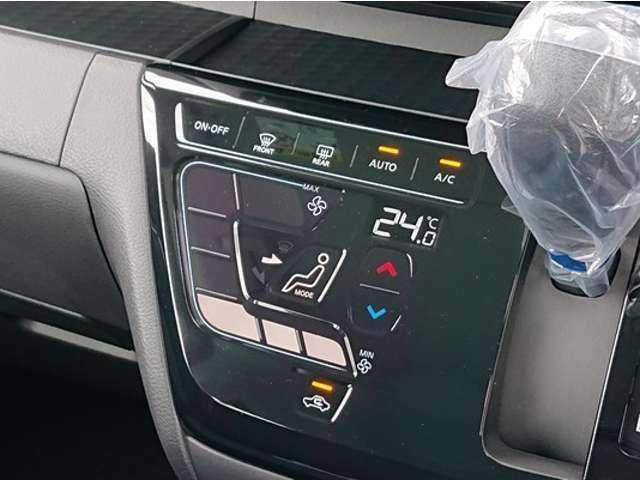 エアコンパネルはオートタイプでタッチパネル式^^気持ちい空気をお届けいたします