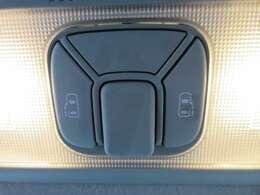 両側パワースライドドア機能付き♪ 天井部にスイッチが装着されております♪ 操作性もよく、人気の装備です♪