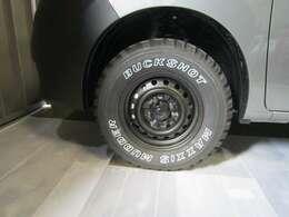 マキシス バックショットマッダー新品タイヤ 純正タイヤホイールございます。4センチリフトアップ 4厘アライメント済み