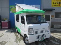 マツダ スクラムトラック バンショッtプ ミカミ テントムシ T-PO ポップアッツルーフ シングルサブ