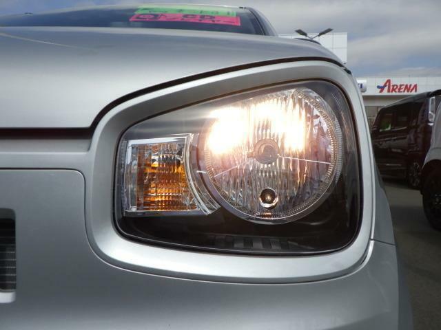 明るい視認性の良いヘッドライト
