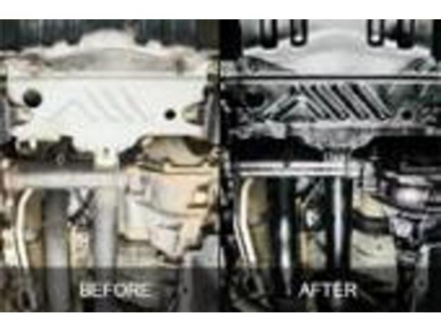 Bプラン画像:下廻り防錆塗装しませんか?真っ黒になりますよ♪♪もちろんキッチリ施工します!!下廻り洗浄→タイヤを外す→ブレーキ廻りに飛び散らないようしっかり養生→トヨタ部品のパスタブラックを使用します!!!!