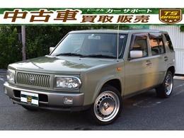 日産 ラシーン 1.5 タイプI 4WD ウッドハンドル 社外アルミ