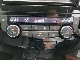 エアコンもお好みの温度に合わせれば 自動的に調節してくれるオートエアコンを装備です♪スイッチも大きく、使いやすいレイアウトの空調スイッチ類です。
