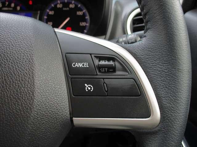 高速道路のドライブもらくらく『クルーズコントロール機能』も搭載♪