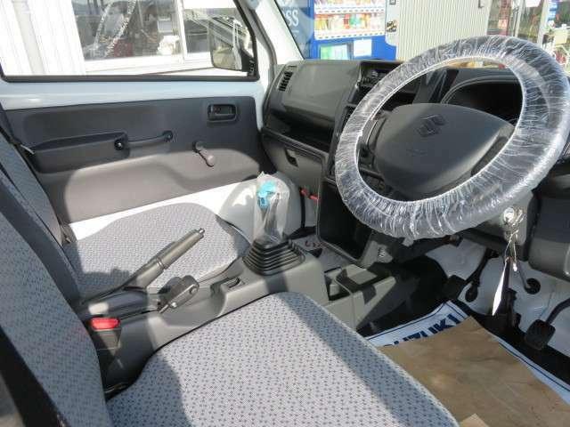 ビニールレザーシート表皮、運転席シートスライド