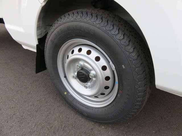 ラジアルタイヤ、最小回転半径3.6m