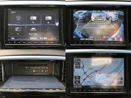 フルセグ装備で、DVDも再生可能なので長いドライブでも飽きません!