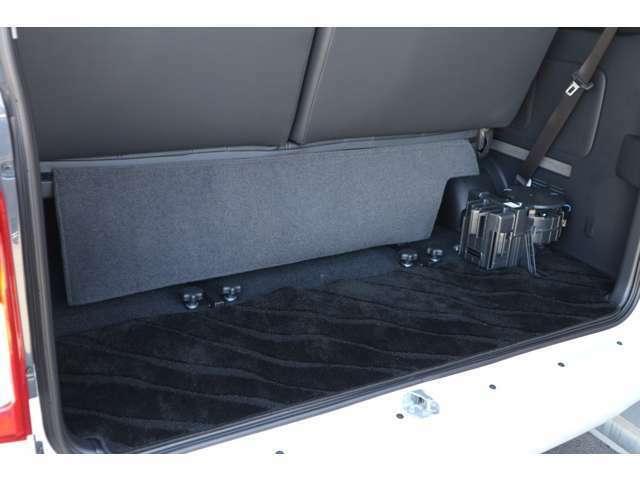 ラゲージスペース確保!車輌持ち込みにて内装施工出来ます!
