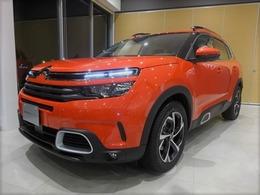 シトロエン C5エアクロスSUV シャイン ブルーHDi ディーゼルターボ 新車保証継承 半皮carplayレーンキープ