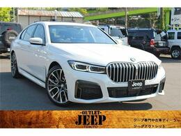BMW 7シリーズ 740i Mスポーツ ディーラー直仕入 新車保証継承 ナビ ETC