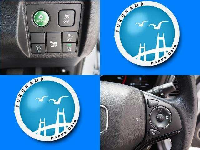 Honda SENSINGは衝突を予測してブレーキをかけたり、前のクルマとちょうどいい距離でついていったりできる多彩な安心・快適機能を搭載した先進の安全運転支援システムです。